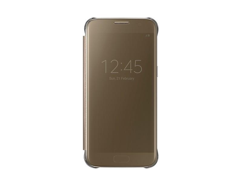 Samsung púzdro pre Galaxy S7 EF-ZG930CF, zlatá