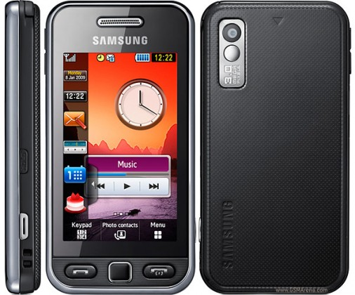 Samsung Samsung Star (S5230), čierny