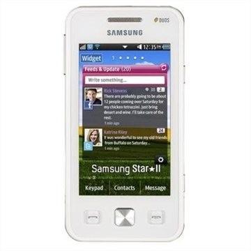 Samsung Star II Duos (C6712), biely