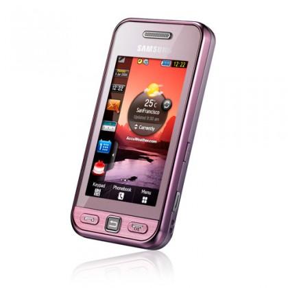 Samsung Star (S5230), ružový