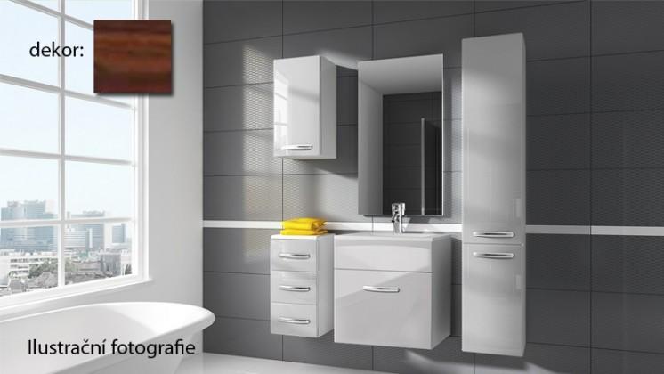 San Marino - kúpeľňová zostava s umývadlom (zebrano)