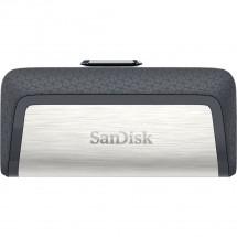 SanDisk Flash Disk 32GB Dual USB Drive Type-C Ultra