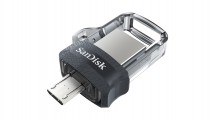 SanDisk Flash Disk 64GB Dual USB Drive m3.0 Ultra