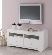 Santorini - TV stolík, typ 31 (biela arctic)