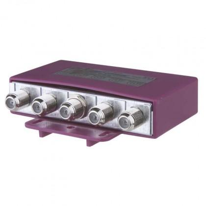 Satelitné príslušenstvo DISEQ prepínač pre 2 až 4 konvertory