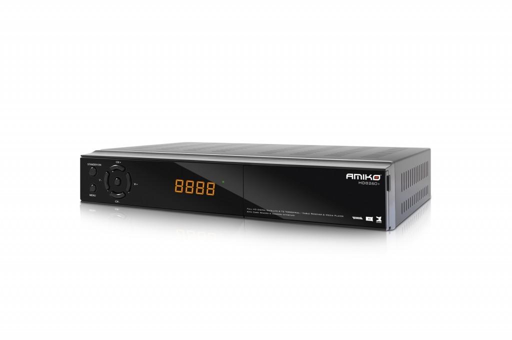 Satelitný prijímač Amiko HD 8260+ CICXE Combo DVB-S2 / T2 / C ROZBALENÉ