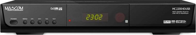 Satelitný prijímač  Mascom MC2200HDCIUSB