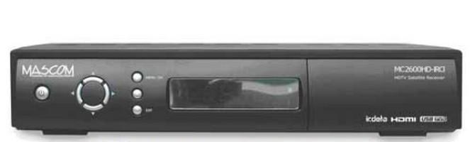 Satelitný prijímač Mascom MC2600HD IRCI ROZBALENO