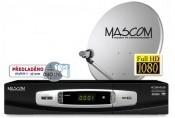 Satelitný prijímač Mascom S-2000UCR/60 ROZBALENO