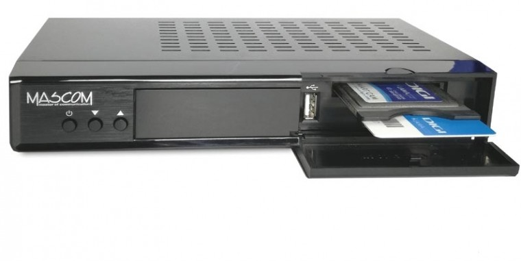 Satelitný prijímač Satelitný prijímač Mascom MC 4300HDCI
