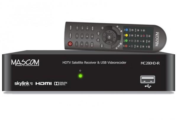 Satelitný prijímač Satelitný prijímač Mascom MC280HD-IR
