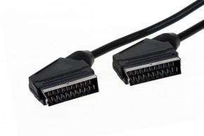 SCART / SCART TV kábel AQ 3m