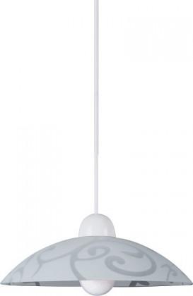 Scroll - Stropné osvetlenie, E27 (biela/průsvitná)