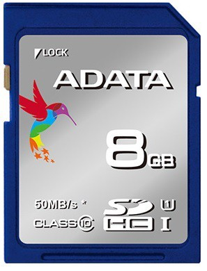 SDHC A-Data SDHC Premier 8GB UHS-I class 10