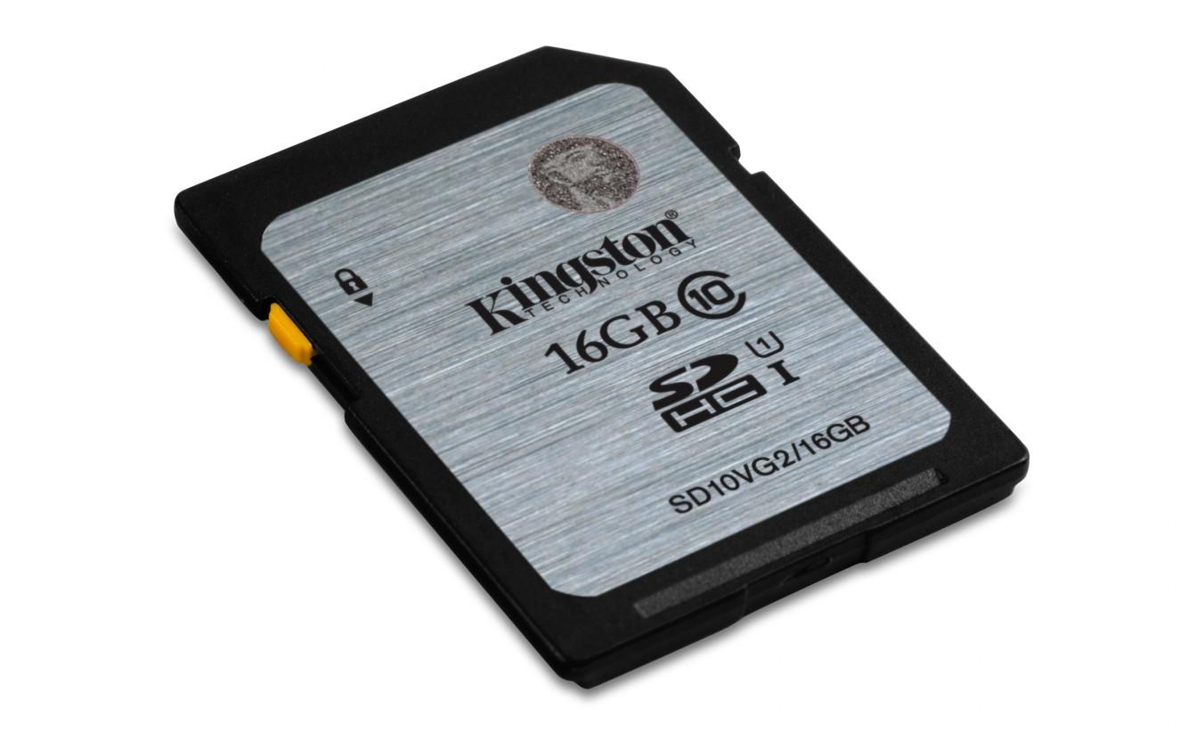 SDHC Kingston 16GB SDHC Class10 UHS-I 45MB/s (SD10VG2/16GB)