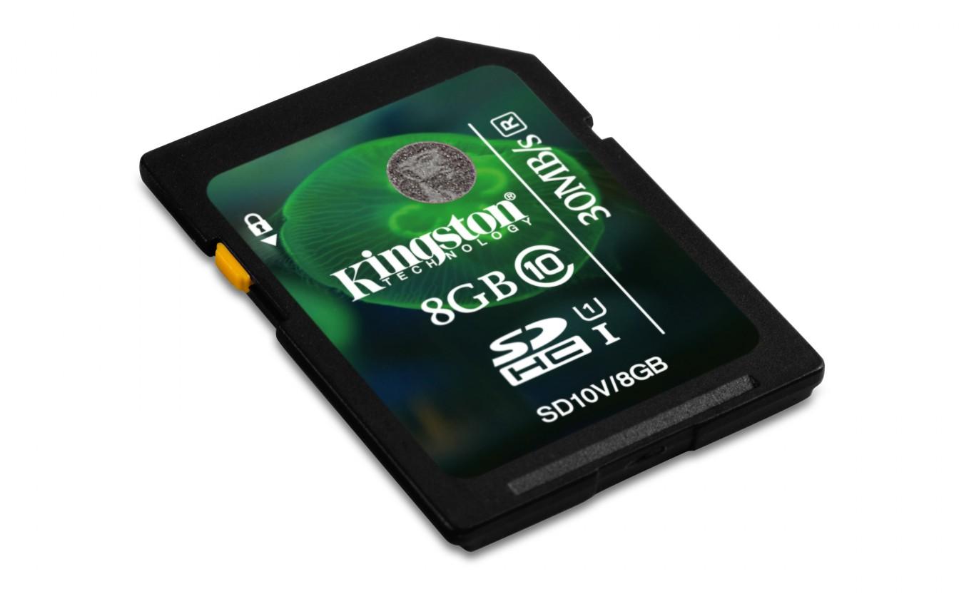 SDHC Kingston SDHC 8GB Class 10 UHS-I - SD10V/8GB