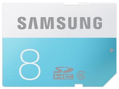SDHC Samsung SDHC Standard 8GB Class 6 + (MB-SS08D/EU)