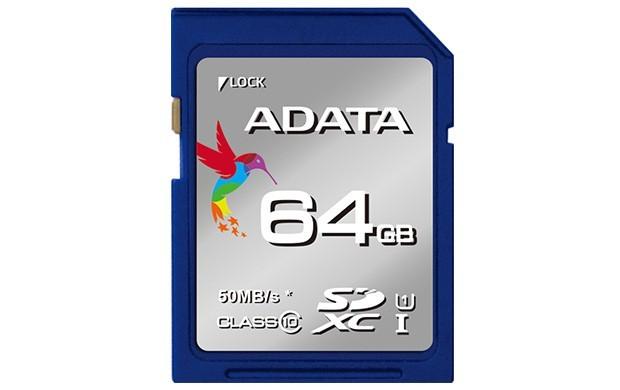 SDXC A-Data SDXC Premier 64GB UHS-I Class 10