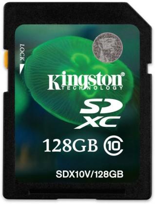 SDXC Kingston SDHC 128GB Class 10 UHS-I - SD10V/128GB ROZBALENÉ
