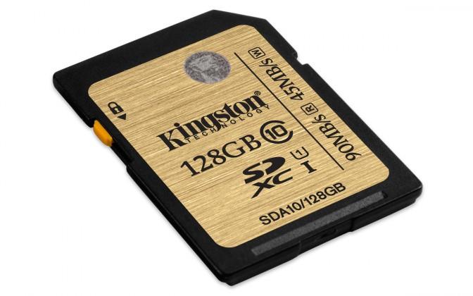 SDXC Kingston SDXC Ultimate 128GB UHS-I class 10