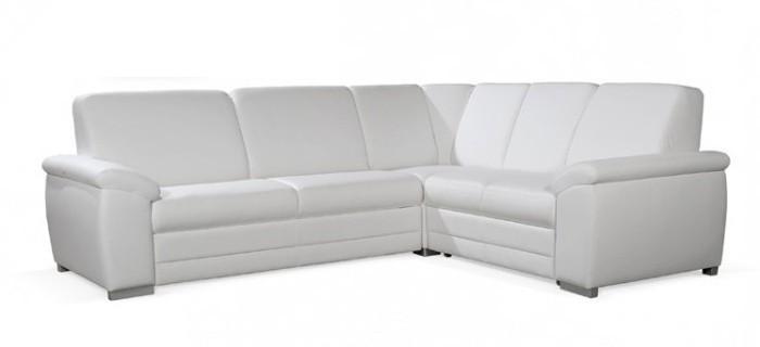 Sedacie súpravy ZLACNENÉ Sedacia súprava Nuuk (cayenne 1111 white) - II. akosť
