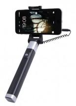 Selfie tyč WG 5 s 3,5 Jack konektorom a spúšťa, čierna