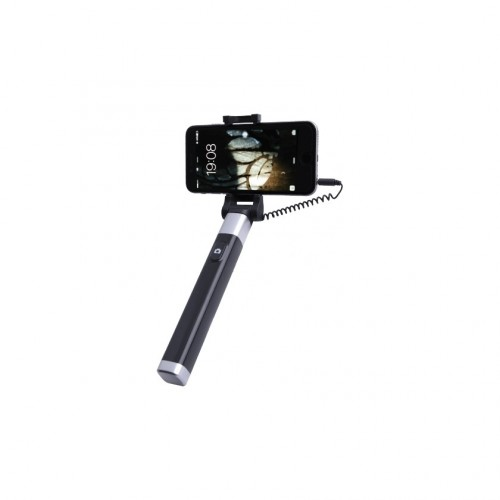 Selfie tyč WG 5 s 3,5 Jack konektorom a spúšťou, čierna