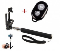 Selfie tyč WG s bluetooth ovládačom, 20-97cm