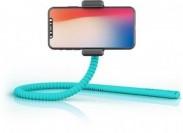 Selfie tyč Zbam GEKKOSTICK, multifunkčný, tyrkysová