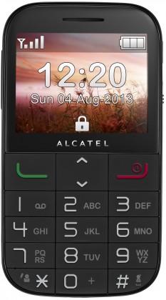 Senior telefón ALCATEL ONETOUCH 2000 Black