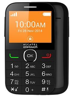 Senior telefón ALCATEL ONETOUCH 2004G Black