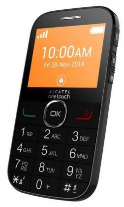 Senior telefón ALCATEL ONETOUCH 2004G Black ROZBALENE