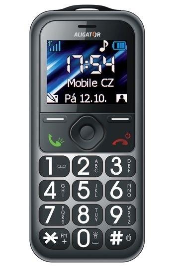 Senior telefón Aligator A360 ROZBALENO