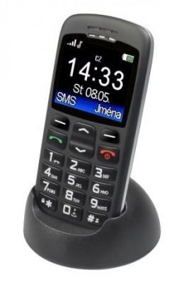 Senior telefón Aligator A670 Senior, čierna