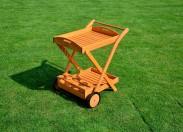 Servírovací stolík (drevo)