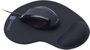 Set ConnectIT CI77, optická myš + ergonomická podložka