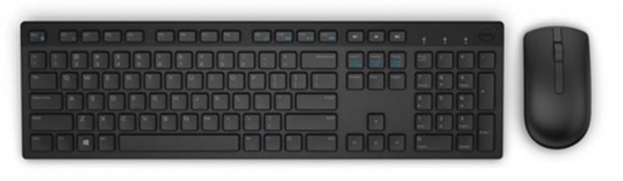 Set Dell KM636, bezdrôtový, klávesnica+myš, CZ, čierny