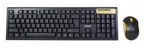 Set EVOLVEO WK-160, klávesnica a myš, bezdrôtový, čierny