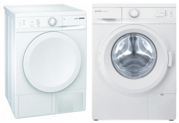 SET GORENJE práčka WA74SY2W + sušička bielizne D76SY2W