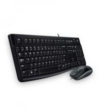 Set klávesnice a myši Logitech K120, CZE, čierna