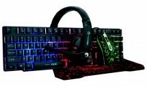 Set Marvö CM370, klávesnica, myš, podložka, slúchadlá, herné