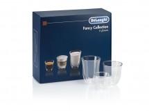 Set pohárov na kávu DeLonghi DLSC302, 2x60ml, 2x190ml, 2x220ml