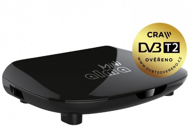 Set-top box ALMA 2880 Mini, DVB-T2 HD přijímač