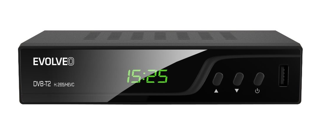 Set-top box EVOLVEO Omega T2, HD DVB-T2 H.265/HEVC multimediálny rekordér