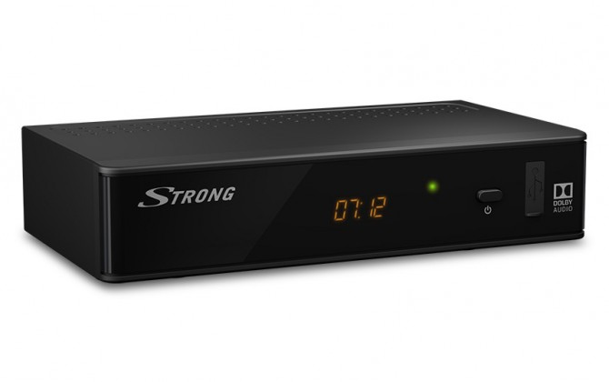 Set-top box STRONG DVB-T2 prijímač SRT 8211