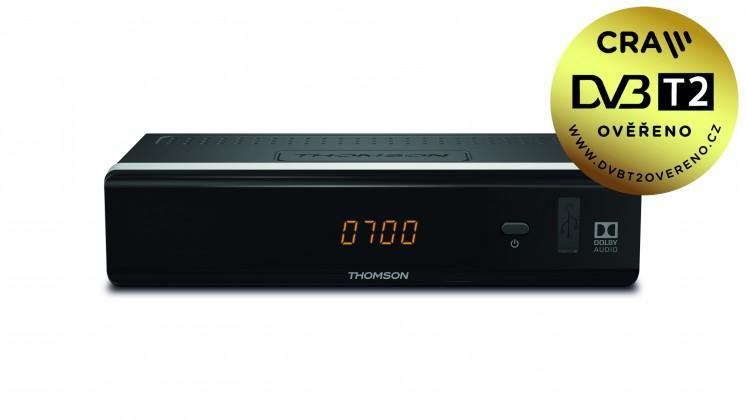 Set-top box THOMSON DVB-T2 prijímač THT 712