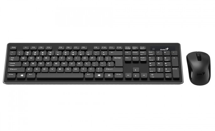 Sety klávesnic s myšou Genius set SlimStar 8008, CZ/SK 31340001403