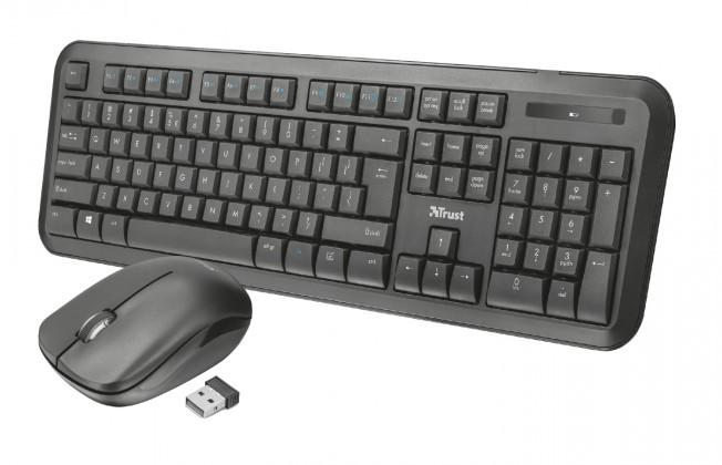 Sety klávesnic s myšou Nova Wireless Keyboard and mouse CZ /SK