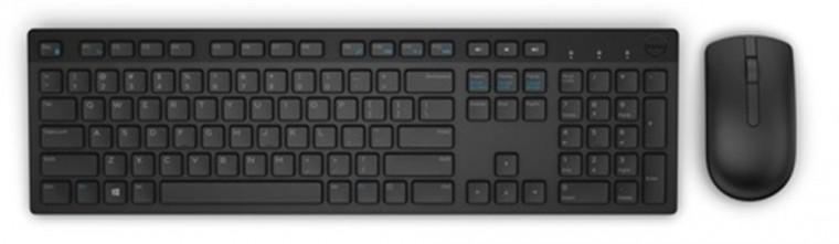 Sety klávesnic s myšou Set Dell KM636, bezdrôtový, klávesnica+myš, CZ, čierny
