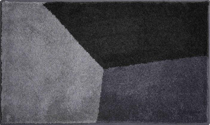 Shi - Kúpeľňová predložka 70x120 cm (antracitová)